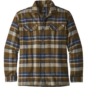 Patagonia Fjord LS Flannel Shirt Men basin: sediment